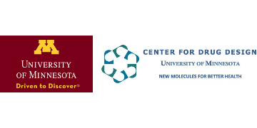 Center for Drug Design, University of Minnesota logo