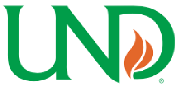 University of North Dakota Department of Chemistry logo