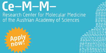 CeMM Research Center for Molecular Medicine of the Austrian Academy of Sciences logo