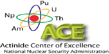 Actinide Center of Excellence logo