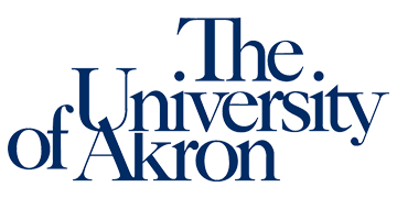 The University of Akron  logo