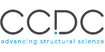 The Cambridge Crystallographic Data Centre (CCDC) logo